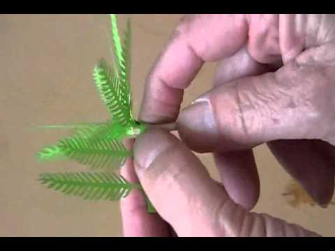 Lasercut Palm Tree for Model Rail