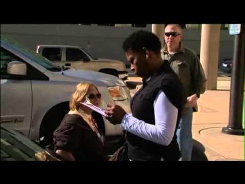 Handicap Parking Violators Confronted