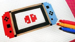 Comment Dessiner Le Logo De Ninja Fortnite Pixel Art