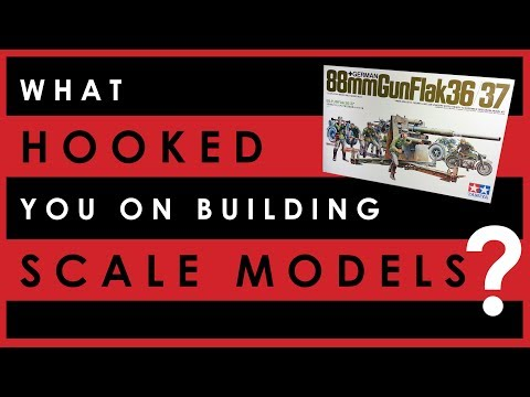 What hooked you on building scale models?