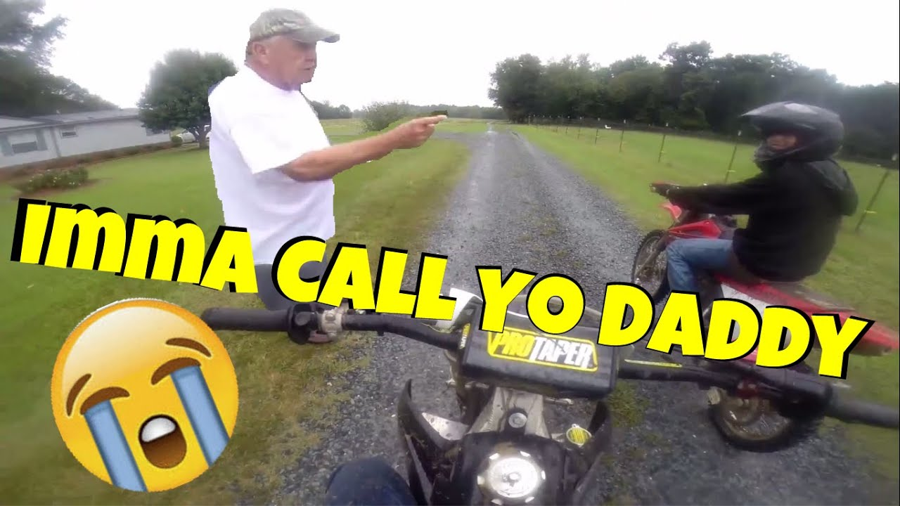 Old Man Yell's At Kid's For Riding DirtBike's! EP-17