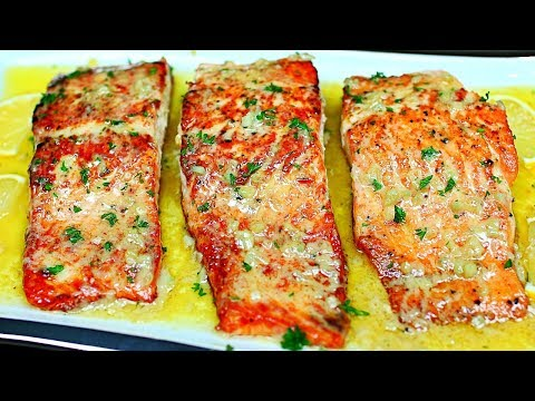Lemon Butter Seared Salmon Recipe - Easy Salmon Recipe