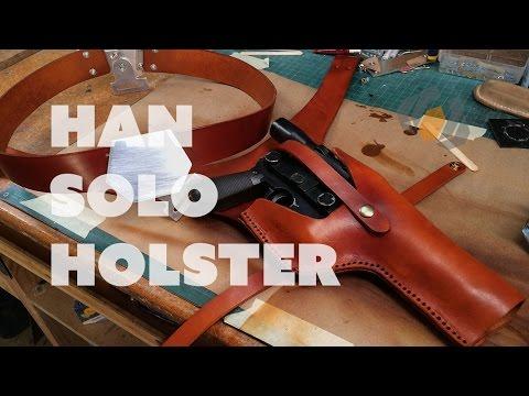 Prop: Shop - Han Solo Belt Holster Build