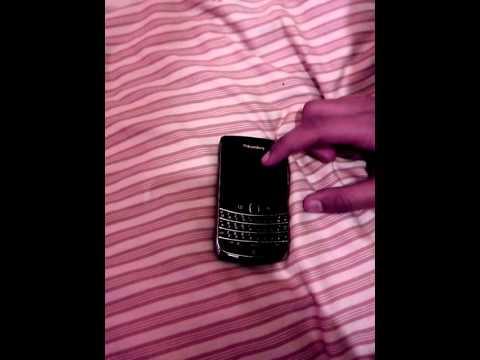 How to reset blackberry password