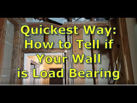 How to Tell if Your Wall is Load Bearing, How To Cut a Doorway in a Load Bearing Wall