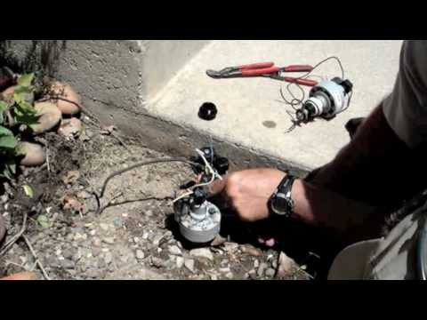 How to replace a Conversion sprinkler valve.