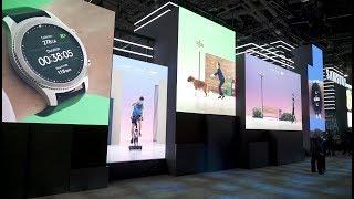 CES 2018: Samsung 8K & modular 4K TVs | Crutchfield video