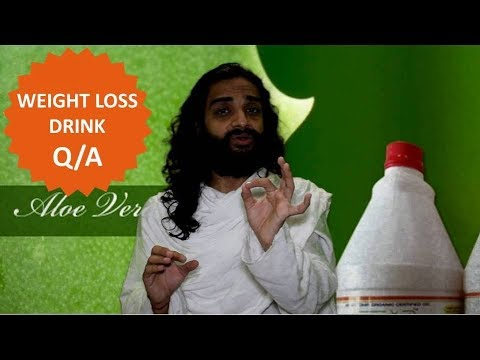 FAQ's Weight Loss Drink | Amla Aloevera Ginger Juice Queries Answered By Nityanandam Shree