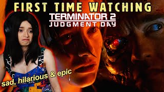 Terminator 2 was JUST as EPIC as the first film! Lotsa LOLs! First time watching reaction \u0026 review