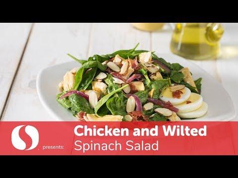 Chicken & Wilted Spinach Salad | New Year Recipes | Safeway