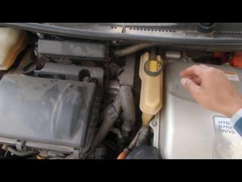 How to Check Prius 2006 Gen II Water Pump.