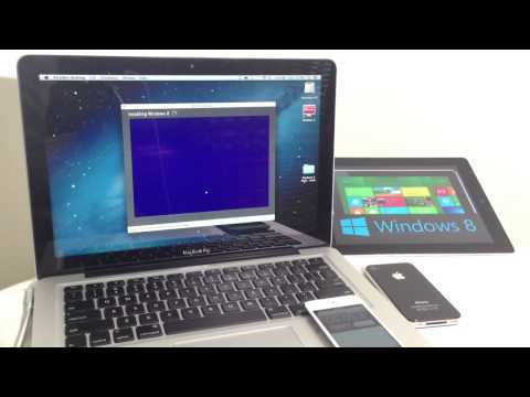 How to install Windows 8.1 on any macbook