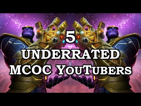 5 Underrated MCOC Youtubers | Marvel Contest of Champions