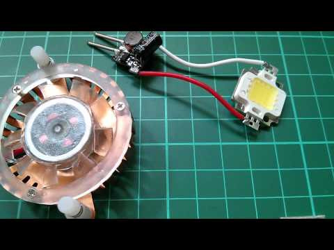 LED Tutorial: Light a 10W LED from 12V - Simple & Cheap