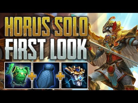 Xxx Mp4 Horus Solo First Look Support Style Warrior SMITE PTS Gameplay 3gp Sex