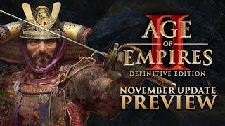 Age of Empires II: DE - November Update Preview