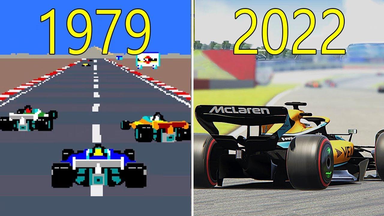 Evolution of F1 Games 1979-2020