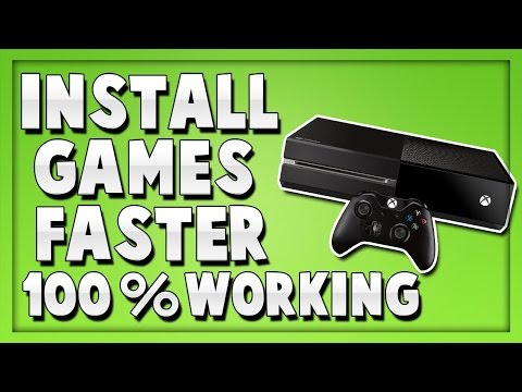 How To Install Xbox One Games Faster 2016