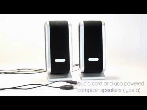 Connecting USB Speakers to a Computer