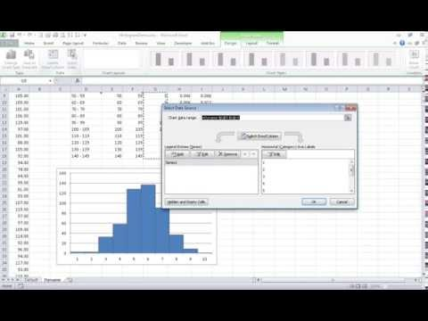 How to  Make a Dynamic Histogram in Excel