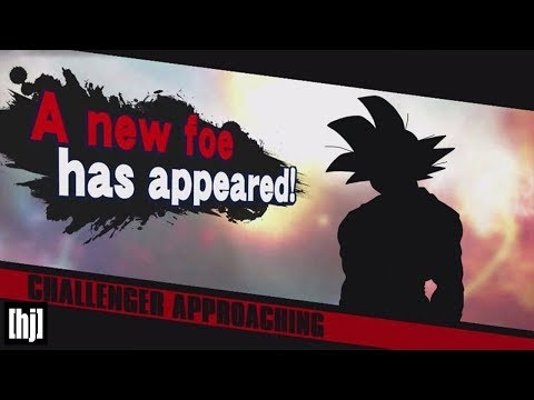 GOKU IS IN SUPER SMASH BROS. SWITCH?!