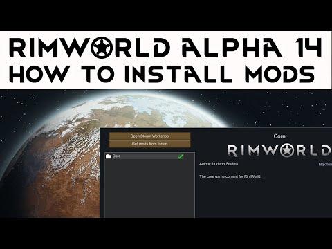 Rimworld alpha 14 how to install mods -  Rimworld steam workshop mod installing