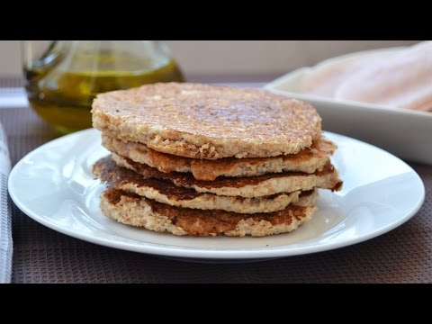 Oat Bran Pancakes - How to Make Healthy Homemade Pancakes from Scratch
