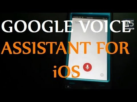 SWAP SIRI ASSISTANT FOR GOOGLE VOICE ASSISTANT ON YOUR IOS DEVICE