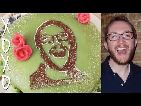 How Make a Photo Cake Portrait - Natural, Edible, Easy