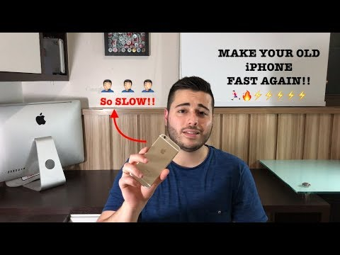 How to Speed Up Your Old iPhone!!
