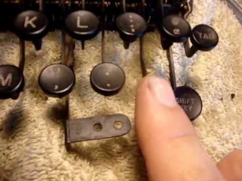Remington Rand Noiseless 7 Restore [Part 2]