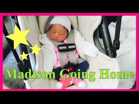 Newborn Baby going home from the hospital | Bringing Madison home |