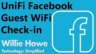 UniFi Facebook Guest WiFi Setup