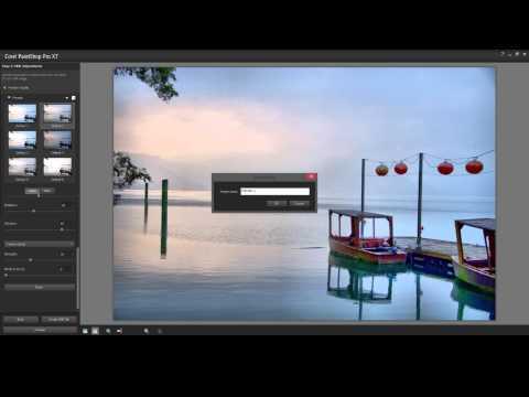 Creating HDR Presets in PaintShop Pro.