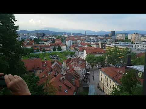 Ljubljana castle elevator