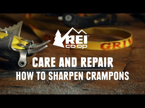 How to Sharpen Crampons    REI