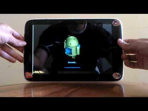Cómo desbloquear, formatear, resetear (Hard Reset) Tablet Camaima o MX TR10CS1 TR10RS1