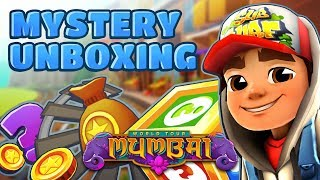 💰 Subway Surfers Mystery Unboxing - Opening Mystery Boxes in Mumbai