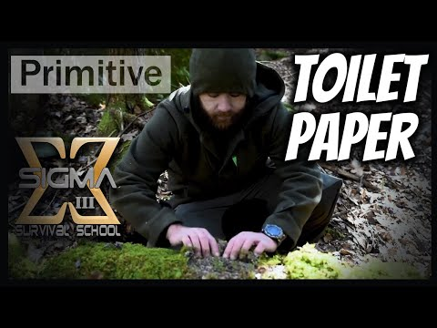 Quick Tip on Improvised Toilet Paper in the woods