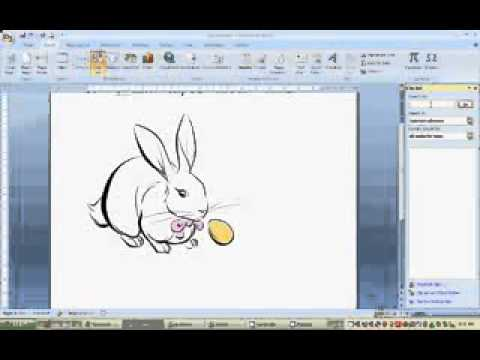 How To insert Clip Art On MS Word 2007