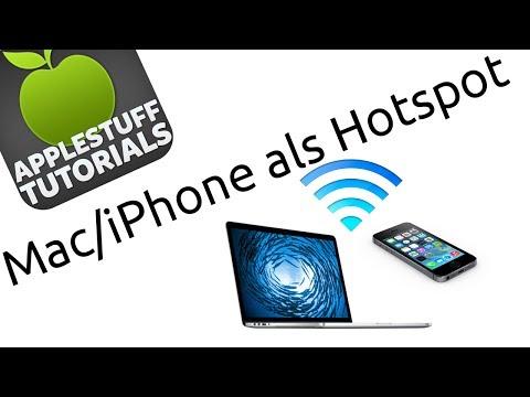 Mac/iPhone als Hotspot nutzen (Deutsch,HD)