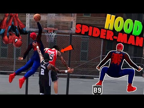 Friendly Neighborhood GHETTO SPIDER-MAN Found At The Playground - NBA 2K18