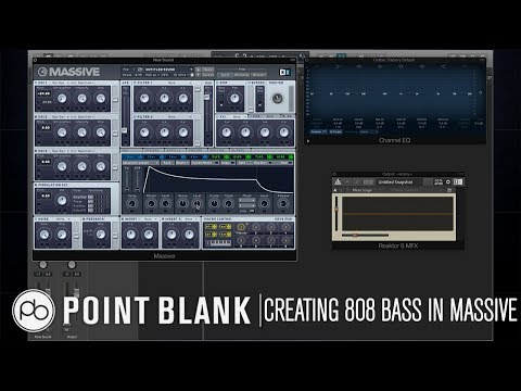 Sound Design Tutorial: How to Create an 808 Bass in Massive