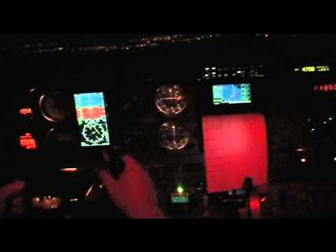 Nightflight from Key West to Naples, 26 Feb 2012