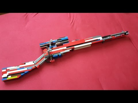 Lego Sniper rifle v6 + Mechanism