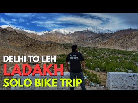 Delhi To Leh Solo Bike Ride via Srinagar in May - Ladakh Road Trip