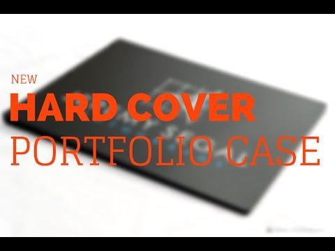 New Hardcover Portfolio Case for Architects Designers and Photographers