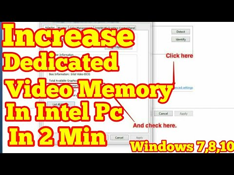INCREASE DEDICATED VIDEO MEMORY IN INTEL HD PC | INCREASE VRAM(hp,acer,dell,asus) FOR WINDOWS 7,8,10