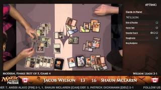 Pro Tour Born of the Gods - Finals - Jacob Wilson vs. Shaun McLaren