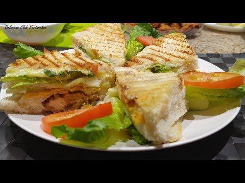 Zinger Club Sandwich - Dubai Kitchen